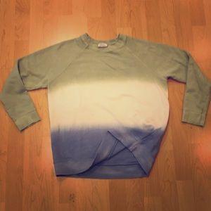 ZARA multi color sweatshirt, crew neck, Size S